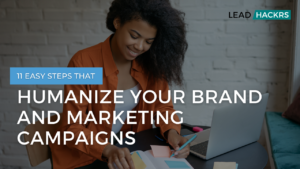 Humanize your brand featured image