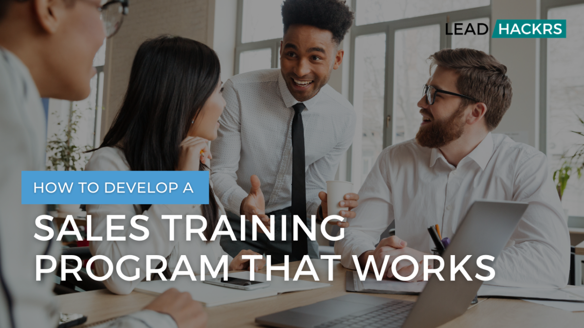 sales training program featured image
